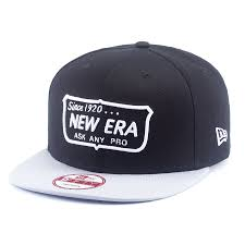 <b>Бейсболка New Era</b> Ask Any Pro Snap <b>9FIFTY</b> (black/grey) - купить ...