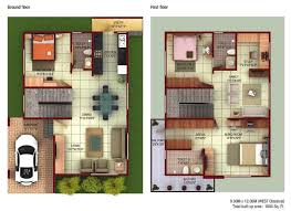 by Feet bhk BHK House Map   Photos   DecorChamp by BHK Multi Story Maps