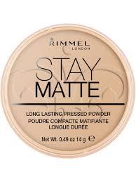 Тональная <b>пудра</b> матирующая <b>Stay Matte</b> Rimmel 1694598 в ...