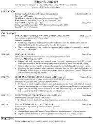 resume sample example resume  seangarrette coresume sample example