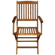 Garden & <b>Patio</b> 5/<b>7 Piece Outdoor</b> Wooden <b>Dining</b> Set Folding Table ...