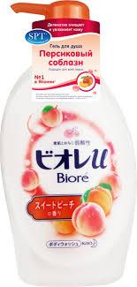 <b>Гель для душа</b> Biore <b>Персиковый</b> соблазн, 480 мл — купить в ...