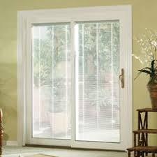 door blinds glass glass
