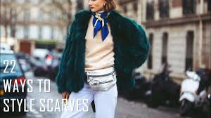 22 Ways To <b>Style Scarves</b> | Fall/<b>Winter 2018</b>-2019 - YouTube