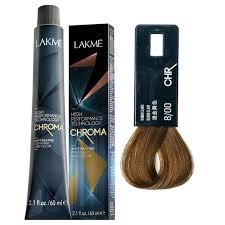 LAKME <b>Безаммиачная</b> перманентная <b>крем</b>-<b>краска для волос</b> 8/00 ...