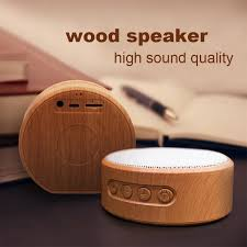 <b>Retro</b> A60 <b>Wood Grain</b> Wireless Bluetooth Speaker Portable <b>Mini</b> ...