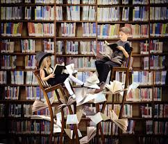 Image result for children in a used bookstore