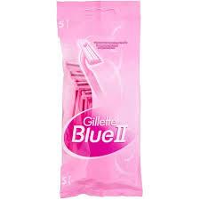 Купить бритвенный <b>станок Gillette BLUE</b> II Бритвенный <b>станок</b>, 5 ...
