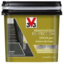 <b>Краска</b> акриловая <b>V33 Renovation</b> Perfection для пола и лестниц ...