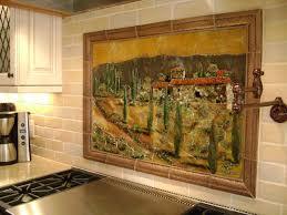 tile tuscan backsplash mural