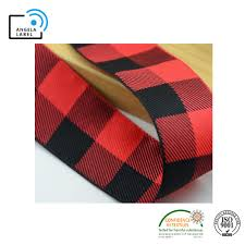 China 4cm <b>Wide</b> Plaid Double Face Polyester Handmade Jacquard ...