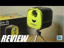 REVIEW: Vivibright <b>L1 Mini</b> LED Portable <b>Pocket Projector</b> - YouTube
