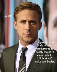 The 10 Best Ryan Gosling Internet Memes - Lucca Gosling Peonies - 1 via Relatably.com