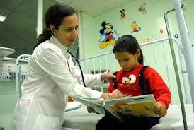 La salud, derecho indispensable de los niños cubanos.