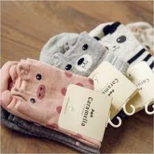 <b>2016 New Lovely Cartoon</b> Women Socks High Quality Cotton Sox ...