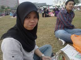 Image result for malaysian muslim male and hijab female walk at the tasik