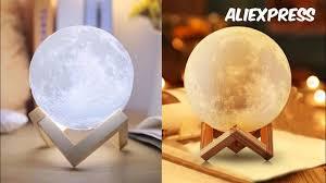 СВЕТИЛЬНИК ЛУНА <b>3D</b> печать AliExpress /<b>3D</b> Print Moon <b>Lamp</b> ...