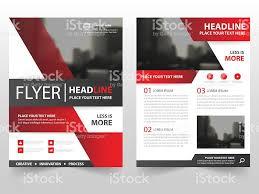red black vector brochure leaflet flyer template design book cover 1 credit