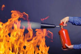Image result for Carbon Dioxide/CO2 is used in fire-extinguish devices.