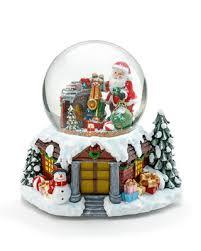 LM Новогодняя <b>статуэтка</b> Дед мороз и подарки с LED <b>подсветкой</b>