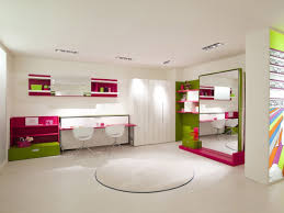 bedroom popular kids room design mirrored murphy bed and shared pink study desk and white wall beautiful murphy bed desk