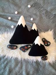 <b>Mountain</b> baby decor Camping <b>Mountain</b> nursery decor pillow ...