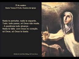 Resultado de imagem para Dia de Santa Teresa D'Ávila