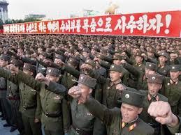 Image result for ارتش کره شمالی وضعیت جنگی گرفت