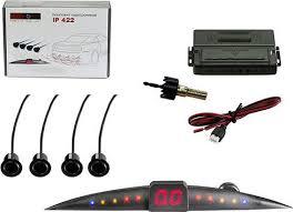 <b>Silverstone F1</b> Interpower <b>IP</b>-<b>422</b>, <b>Black</b> парковочный радар ...
