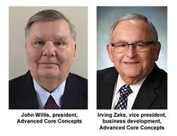 john willis president and irving zaks vice president business development of advanced concepts business
