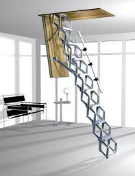 wood loft stair designed loft ladder and stair ideas modern home furniture design of loft ladder designed with grey bespoke furniture space saving furniture wooden