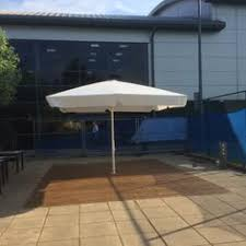 metre giant umbrella: new giant umbrella install at david lloyd oxford