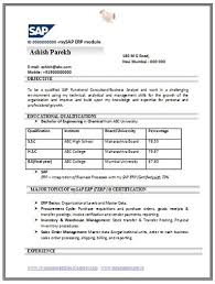 over  cv and resume samples   free down   over  cv and resume samples   free download  download sap resume format free