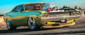 """<b>Dodge Challenger</b> """"Boost Bomb"""" Is a Supercharged HEMI Vessel in ..."""