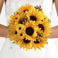 Свадебный <b>букет</b> невесты из <b>подсолнухов</b> – купите его в ...
