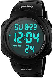 Mens <b>Sports Digital Watches</b> - Outdoor Waterproof <b>Sport Watch</b> with ...