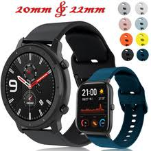 For <b>Xiaomi</b> Huami <b>amazfit</b> gts <b>20mm watch</b> strap Silicone pulseira ...