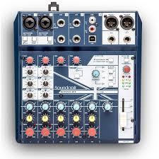 <b>Soundcraft Notepad</b>-<b>8FX</b>, купить аналоговый микшерный <b>пульт</b> ...