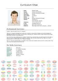 Free CV Templates – International Short – Download – Comoto CV-Template-International-1