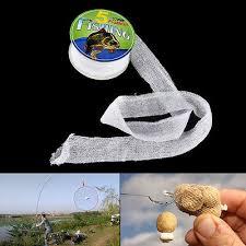 wifreo 1pc 25mm x 5m 37mm carp fishing pva mesh refill hair rig hook bait feeder boillie rigging