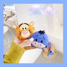 <b>3D Round</b> Shape Soft Silicone Cute Cartoon <b>Tiger</b>/Eeyore ...