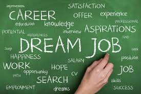job search career and employment advice dream job