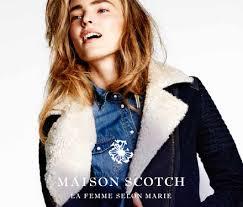 <b>MAISON</b> SCOTCH — модный бренд одежды