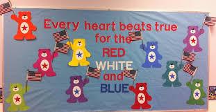 Patriotic Summer Preschool Bulletin Board Idea  quot