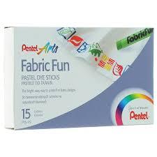 """<b>Пастель для ткани Pentel</b> """"Fabric Fun"""", 15 цветов — купить в ..."""
