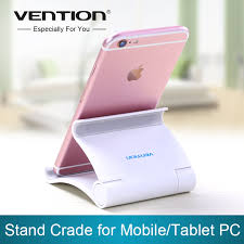 vention mobile phone holder collapsible flat support lazy stent universal plastic desk stand for iphone for aliexpresscom buy foldable office table desk