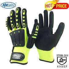 Online Shop <b>NMSafety</b> 1 Pack Shock Absorbing <b>Safety Work Gloves</b> ...