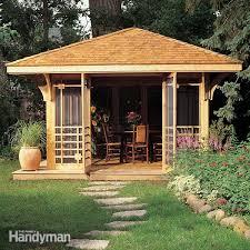 backyard guest house plans » Photo Gallery Backyardbackyard screen house plans