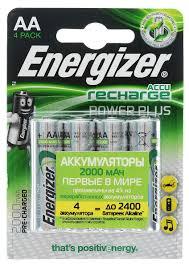 "<b>Аккумулятор Energizer</b> ""Rech <b>Power Plus</b>"", тип AA, 2000 mAh, 1,2V ..."