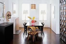 unusual dining room design with black wooden table and chairs with pendant lamp and unique chair image chair unusual dining chairs